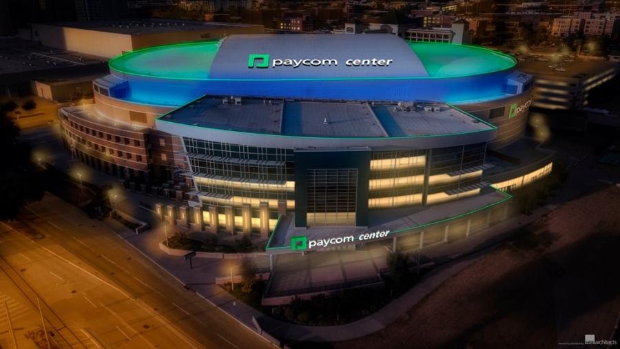 Oklahoma City Thunder: Ο τελευταίος χορηγός του γηπέδου χρεοκόπησε και εγένετο… Paycom Center!