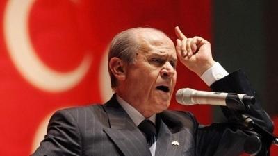 Παραλήρημα Bahceli κατά του Μητσοτάκη: «Αποκαλεί τα τουρκόπουλα ως ελληνόπουλα»