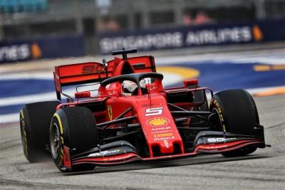 F1: Πρωτιά για τον Vettel και τη Ferrari στο Grand Prix της Σιγκαπούρης