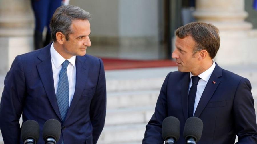 Στη Γαλλία θα μεταβεί ο Κυριάκος Μητσοτάκης τη Δευτέρα 27 Σεπτεμβρίου 2021 – Συνάντηση με Macron