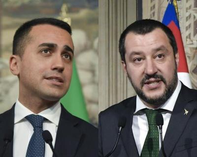 Δημοσκόπηση: Πρώτο κόμμα παραμένει η Λέγκα στην Ιταλία, με 33%-31% έναντι των Πέντε Αστεριών