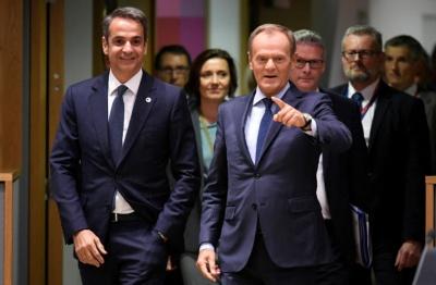 Μητσοτάκης: Η ΕΕ αναγνώρισε ότι η Ελλάδα δεν μπορεί να σηκώσει μόνη της το προσφυγικό βάρος