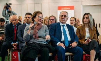 Γ. Χατζηθεοδοσίου και Μ. Αντωνάκη παρόντες στο κοινωνικό αποτύπωμα της INTERAMERICAN