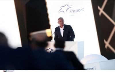 Schulte (Fraport): Η επένδυση στα 14 αεροδρόμια δίνει «σήμα εμπιστοσύνης» για την Ελλάδα στους ξένους επενδυτές