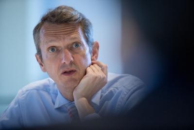 Haldane (ΒοΕ): Επικίνδυνη για την οικονομία η άνοδος του πληθωρισμού στο επίπεδο του 4% το 2021