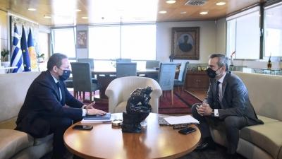 Ανοιχτό λιανεμπόριο με click inside το Πάσχα ζητεί ο δήμαρχος της Θεσσαλονίκης - Συνάντηση με Πέτσα