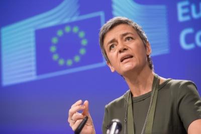 Vestager (Κομισιόν): Η επιβίωση της Ευρώπης περνά μέσα από τη διάσωση των γερμανικών επιχειρήσεων
