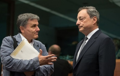 Eurogroup: «Κόντρα» Τσακαλώτου - Draghi για πλειστηριασμούς και ομόλογα