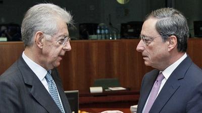 Το παράδειγμα της Ιταλίας σε κάθε κρίση… τεχνοκράτης πρωθυπουργός – Ο Draghi και η κληρονομιά Monti