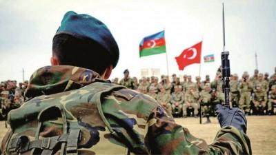 Τούρκοι στρατιωτικοί στο Αζερμπαϊτζάν για το κέντρο επιτήρησης της εκεχειρίας στο Nagorno Karabakh
