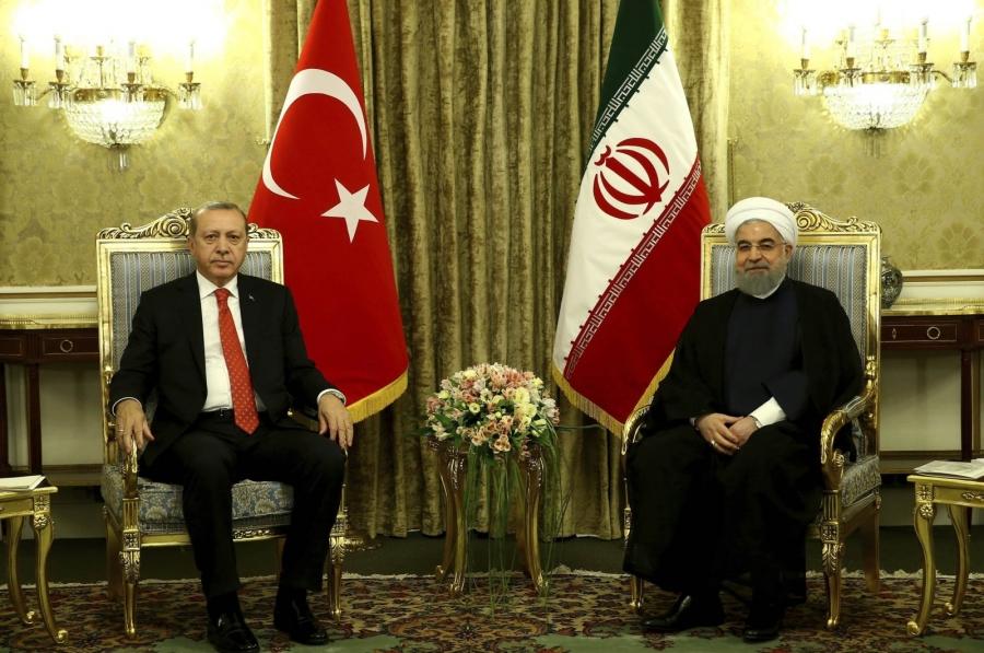 Τηλεφωνική επικοινωνία Erdogan – Rouhani για τις ισραηλινές επιδρομές στη Γάζα