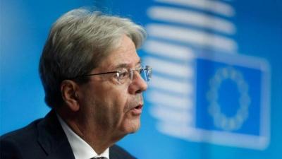 Gentiloni για Ecofin (13/7): Σημαντική ημέρα - Προς έγκριση 12 εθνικά σχέδια ανάκαμψης