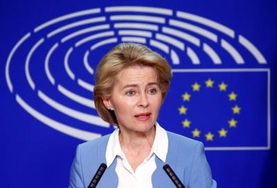 Von der Leyen (Κομισιόν): Δεν θα αποδεχθούμε ποτέ λύση δύο κρατών στην Κύπρο