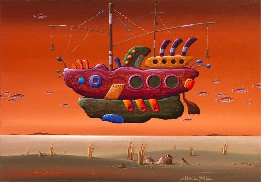 Εθνική Ασφαλιστική: Έκθεση του Γιάννη Κουτσούρη στον Χώρο Τέχνης «ΣΤΟart ΚΟΡΑΗ»