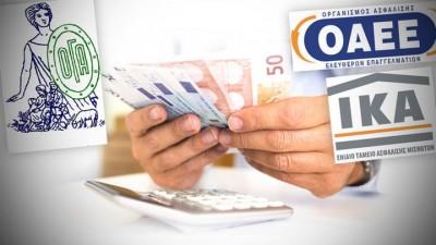 «Κρυφό χρέος» 1 δισ και οριακό πλεόνασμα 176 εκατ. δείχνει ο προϋπολογισμός των ασφαλιστικών Ταμείων για το 2021