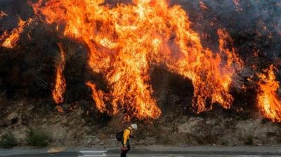 Πυρκαγιές στην Καλιφόρνια: Εντολή εκκένωσης για 50.000 ανθρώπους βόρεια του Σαν Φρανσίσκο