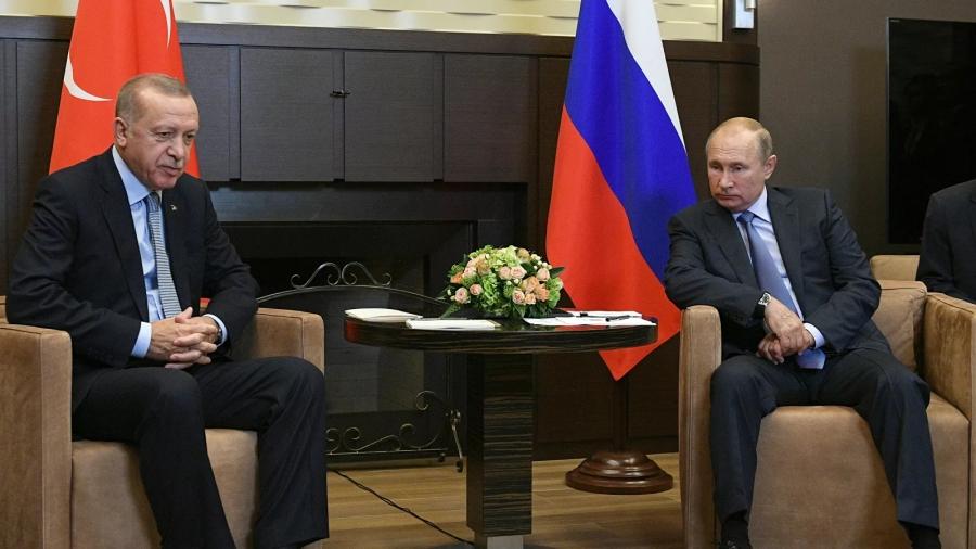 Επικοινωνία Putin - Erdogan: Στόχος η κοινή παραγωγή του ρωσικού εμβολίου Sputnik V - Τι είπαν για Ουκρανία, Μαύρη θάλασσα