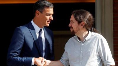 Ισπανία: Ύστατη προσπάθεια Sanchez να πείσει τον Iglesias με πρόγραμμα 370 μέτρων - Εκλογές βλέπει το PSOE