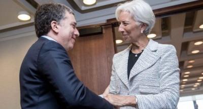 Lagarde: Πρόοδος με την Αργεντινή για την περαιτέρω ενίσχυση του προγράμματος