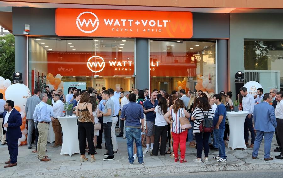 Watt+Volt: Nέο κατάστημα στην Ακράτα - Συνολικά 67 στην Ελλάδα