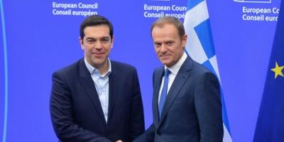 Τσίπρας σε Tusk: Κυρώσεις τώρα στην Τουρκία για τις παράνομες γεωτρήσεις στην κυπριακή ΑΟΖ