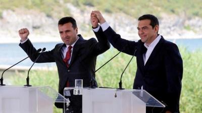 Διχασμένοι οι Σκοπιανοί για τη Συμφωνία των Πρεσπών – Υπέρ το 44,6% των πολιτών