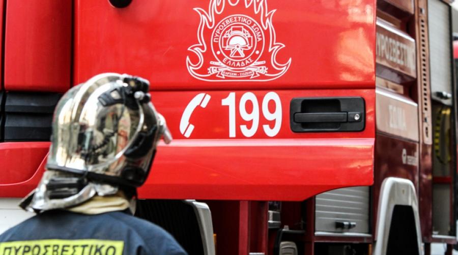 Πυρκαγιά σε λεωφορείο στο Μαρτίνο Φθιώτιδας - Στο σημείο οι πυροσβεστικές δυνάμεις