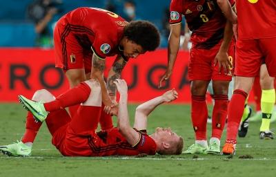Βέλγιο – Πορτογαλία 1-0: Τραυματίστηκε ο Ντε Μπρόινε! (video)