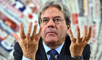 Gentiloni: Οι σημαντικότερες εκλογές των τελευταίων 25 ετών οι αυριανές (4/3) στην Ιταλία - Δεν πρέπει να παρεκκλίνουμε της πορείας μας