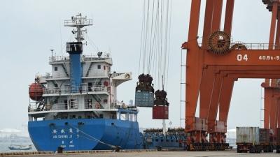 Aύξηση 10,9% κατέγραψε η διακίνηση φορτίων από τα Κινεζικά λιμάνια τον Απρίλιο