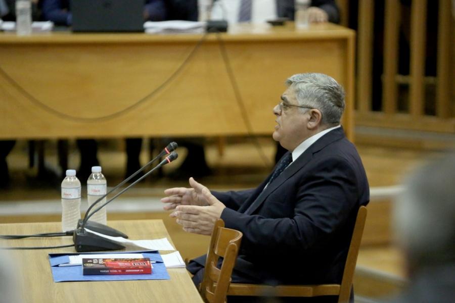 Δίκη Χρυσής Αυγής: Αθώος δήλωσε ο Ν. Μιχαλολιάκος - Καταγγέλλει πολιτική σκευωρία - Ο εισαγγελέας θα προτείνει απαλλαγή των κατηγοριών