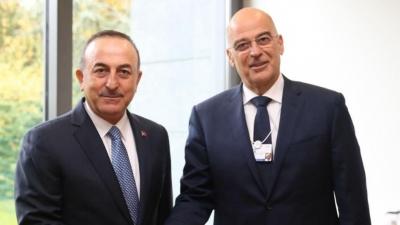 Έντονες διεργασίες για το ταξίδι Δένδια στην Τουρκία (15/4) παρά τις προβοκάτσιες - Στο μενού Λιβύη, Συρία και οικονομική συνεργασία