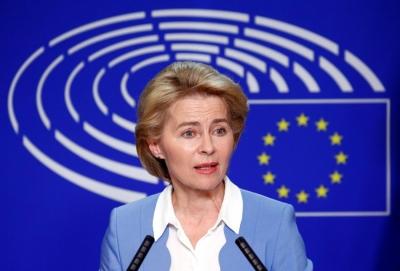 Von der Leyen: Η ΕΕ παρέδωσε αρκετές δόσεις εμβολίων για να εμβολιαστεί το 70% των ενηλίκων