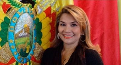 Η μεταβατική πρωθυπουργός της Βολιβίας Anies, αναγνωρίζει τον Guaido ως πρόεδρο της Βενεζουέλας