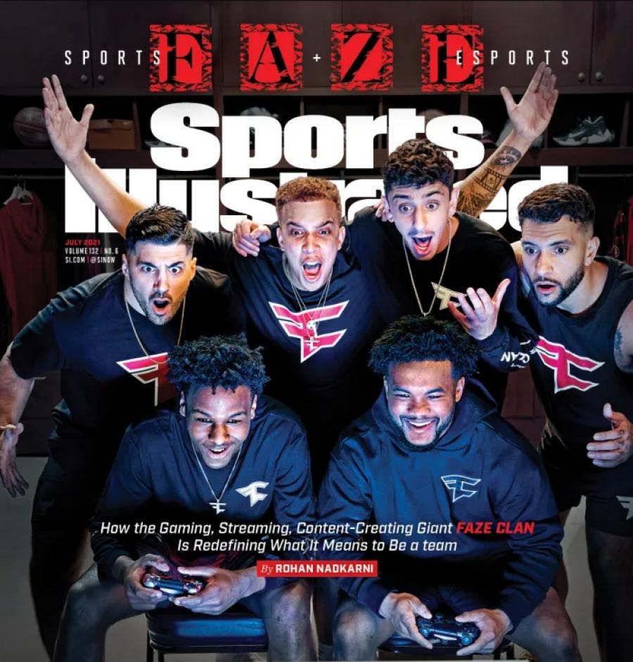FaZe Clan: Ο πρώτος eSports οργανισμός που έγινε εξώφυλλο στο Sports Illustrated (video)
