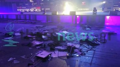 Χαμός στη ΔΕΘ: Οι gamers έσπασαν δεκάδες οθόνες και υπολογιστές