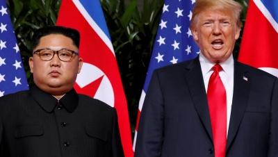 Αλλαγή στάσης από Trump: O Kim θα χάσει τα πάντα, εάν η Βόρεια Κορέα δεν αποπυρηνικοποιηθεί