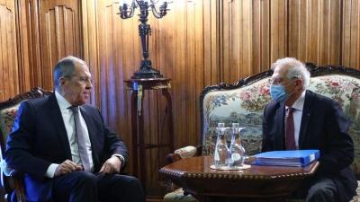Τεταμένες οι σχέσεις της ΕΕ με τη Ρωσία - Borrell: Υπάρχει έλλειψη εμπιστοσύνης - Lavrov: Μη αξιόπιστος εταίρος η ΕΕ