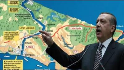 Κωνσταντινούπολη: Εφιάλτης ή σύμβολο μιας ισχυρής Τουρκίας το νέο κανάλι; - Ο Erdogan τοποθέτησε τον θεμέλιο λίθο