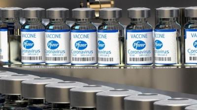 ΕΕ: Εντολή για ακόμα 100 εκατομμύρια νέες δόσεις του εμβολίου των Pfizer/BioNTech