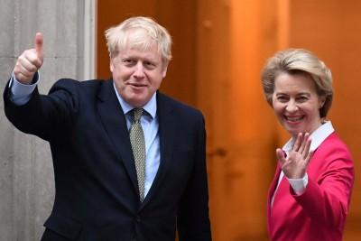 Brexit: Νέα συνομιλία Johnson - von der Leyen τις επόμενες 48 ώρες
