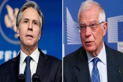 Επικοινωνία Borrell - Blinken: Ανανέωση στρατηγικής σχέσης ΕΕ - ΗΠΑ