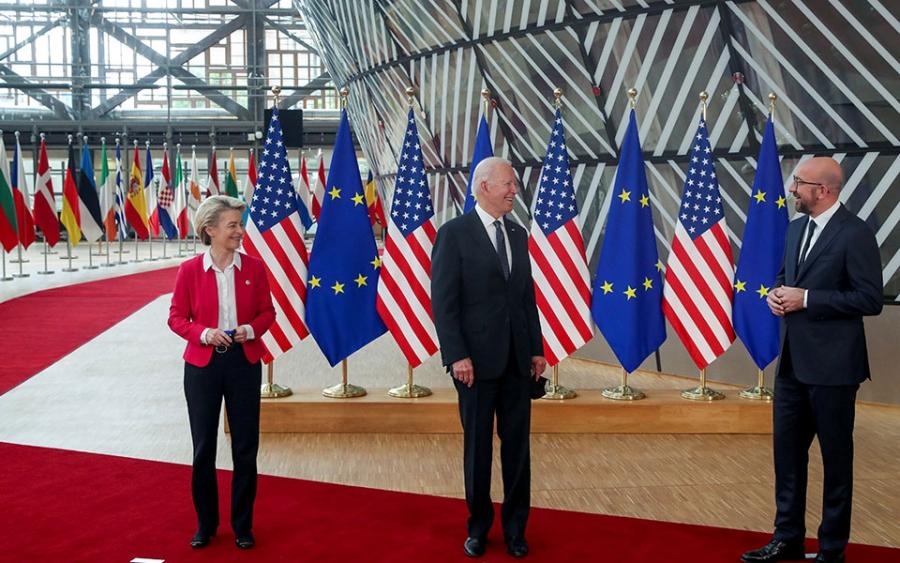 Κοινή δήλωση ΕΕ – ΗΠΑ: «Βιώσιμη» αποκλιμάκωση σε Ανατολική Μεσόγειο και Δίκαιο της Θάλασσας  - Δύο «αιχμές» για την Τουρκία