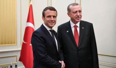 Γαλλία - Τουρκία: Ανησυχίες για τα γεγονότα στην κυπριακή ΑΟΖ εξέφρασε ο Macron στον Erdogan
