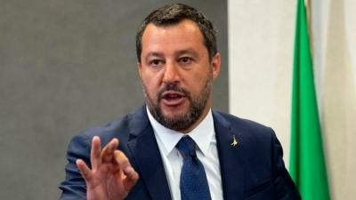 Salvini για εμβόλια - Covid: Κανείς να μην κυνηγήσει τον γιο μου με μία σύριγγα, όχι στον πανικό για τη μετάλλαξη Delta