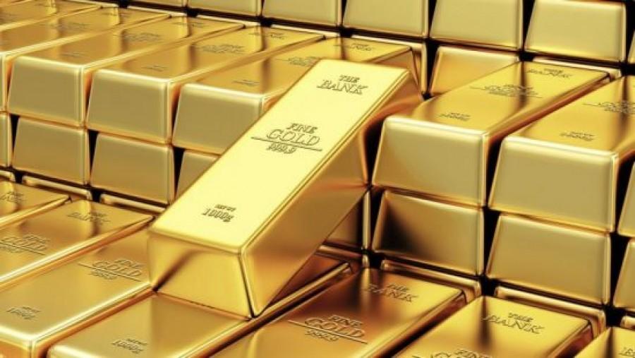 Σε υψηλό δύο εβδομάδων ο χρυσός - Στα 1.842,30 δολάρια ανά ουγγιά