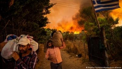 DW για Ελλάδα, Τουρκία, Ιταλία: Για τις δασικές πυρκαγιές δεν ευθύνεται μόνο η κλιματική αλλαγή, αλλά και η εγκατάλειψη της υπαίθρου