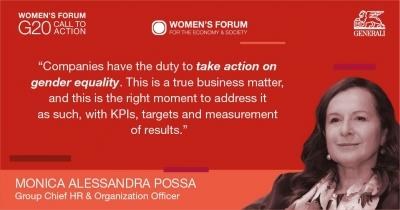 Ο Όμιλος Generali εταίρος του Women's Forum G20 Italy