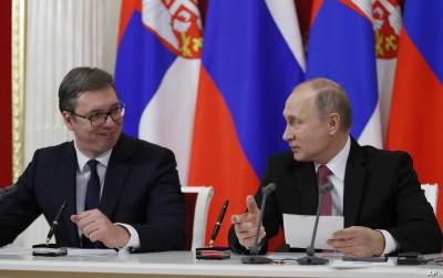 Συνάντηση Putin - Vucic (Σερβία) - Στο επίκεντρο το ζήτημα του Κοσόβου
