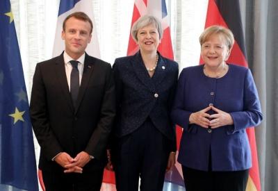 Έκκληση Merkel, Macron και May για διάλογο ΗΠΑ - Ιράν για το πυρηνικό πρόγραμμα της Τεχεράνης